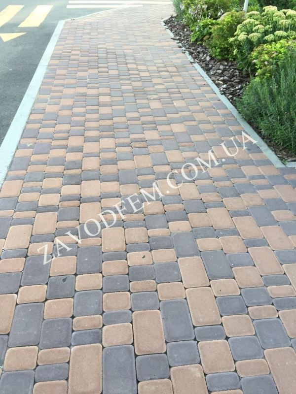 Тротуарная плитка Белогородка
