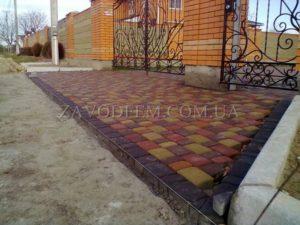 Купить тротуарную плитку в Борисполе