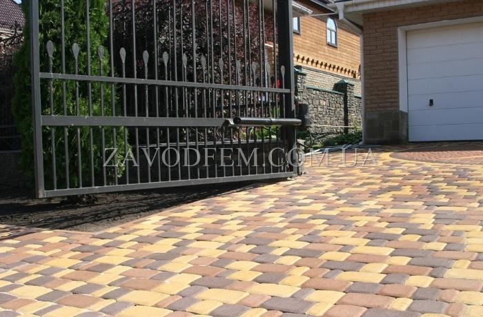 Купить тротуарную плитку в Буче