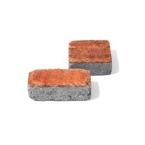 Тротуарная плитка Камень Винтаж колор-микс