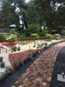 Старый город садовые дорожки