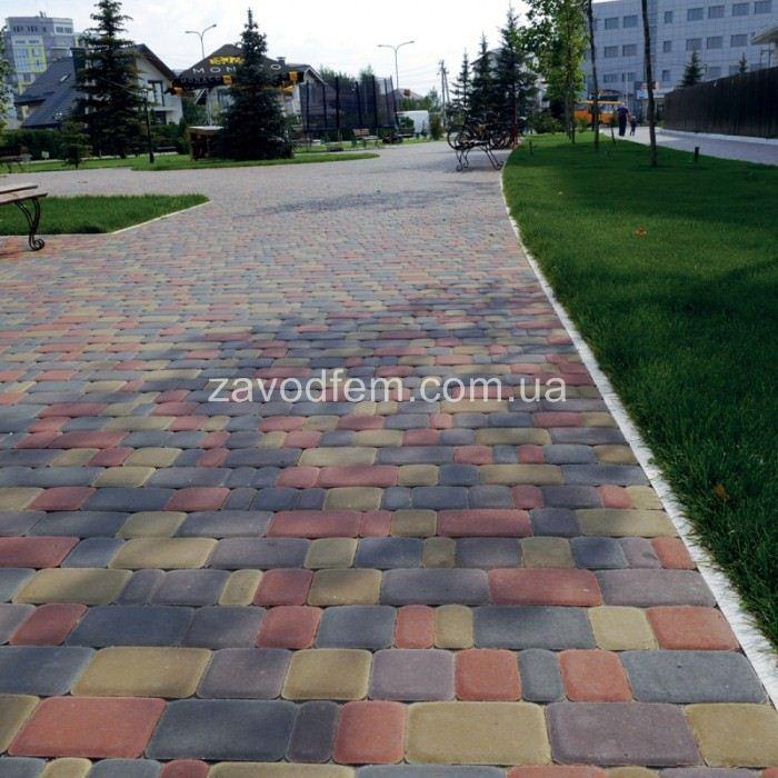 Тротуарная плитка Старый город